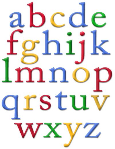 Google Instant Alphabet