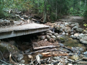 19 Mile Brook Bridge Destroyed by Hurricane Irene