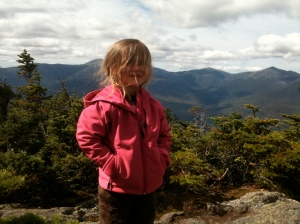 Riley hikes the White Mountains