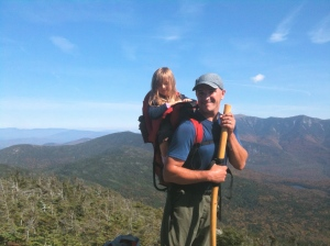 Daddy and The Little Girl on Kinsman Ledge