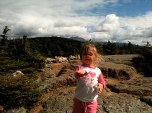 Riley on Mt. Pierce