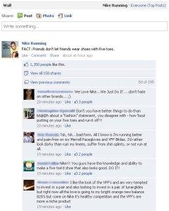 Nike Facebook Mistake Fail