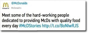 mcdonalds #mcdstories social media fail