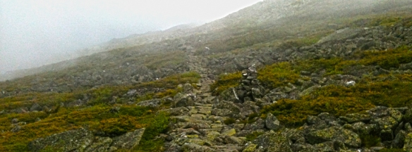 The Gulfside Trail in the Presidential Range