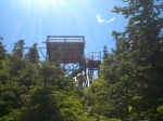 The Firetower on Mt. Carrigain