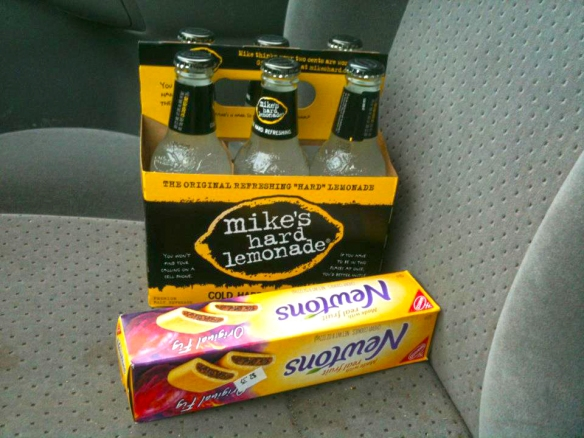 Thanks for the Mikes Hard Lemonade