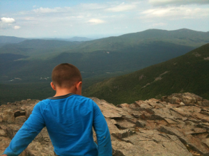 Connor on Mt. Liberty