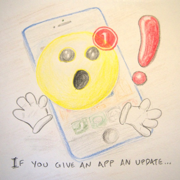 If you give an app an update